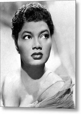 Pearl Bailey, Portrait Ca. 1952 Metal Print by Everett