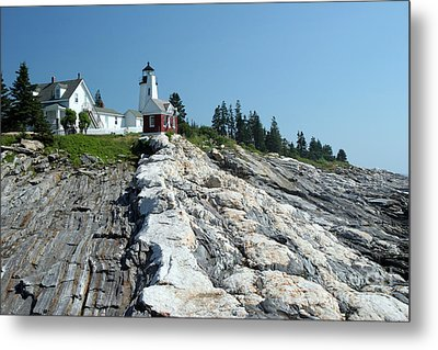 Pemaquid Point Lighthouse Metal Print by Ted Kinsman
