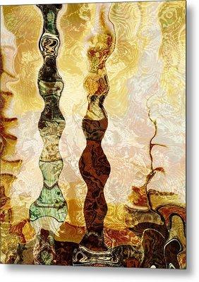 Persian Treasure Metal Print