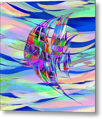 Pescado Aqui Metal Print by Wally Boggus