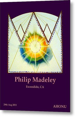 Philip Madeley Metal Print by Ahonu