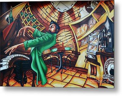 Piano Man 2 Metal Print by Bob Christopher