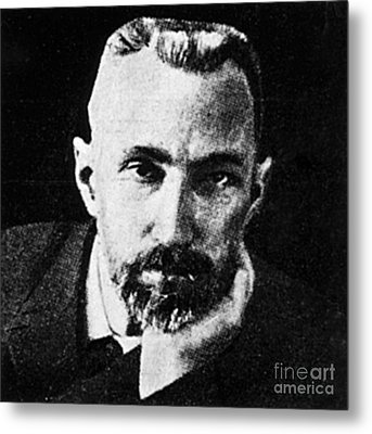 Pierre Curie, French Physicist Metal Print by Science Source
