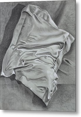 Pillow Talk Metal Print by Patsy Sharpe
