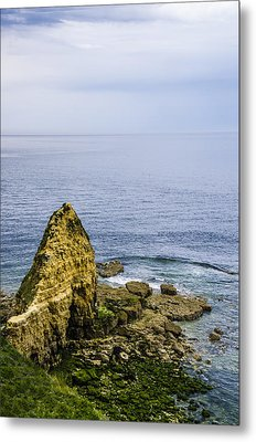 Pointe Du Hoc Metal Print