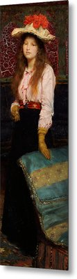 Portrait Of Miss Macwirter Metal Print by Sir Lawrence Alma-Tadema