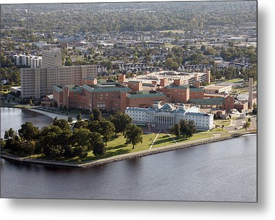 Portsmouth Naval Hospital Metal Print by Lance Freeman
