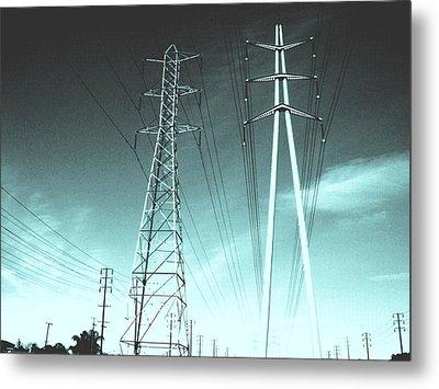 Power Lines Metal Print by Jay Reed