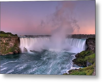 Power Of Horseshoe-niagara Falls Metal Print