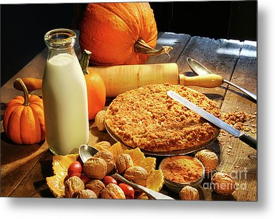 Preparing For Holiday Desserts Metal Print