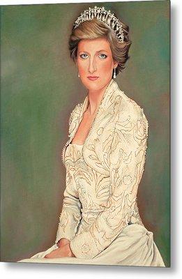 Princess Diana Metal Print by Douglas Fincham