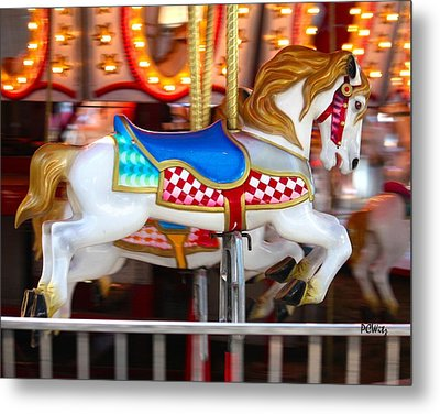 Metal Print featuring the photograph Prized Stallion by Patrick Witz