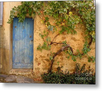 Metal Print featuring the photograph Provence Door 5 by Lainie Wrightson