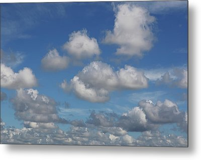 Puff Clouds Metal Print by Nick  Shirghio
