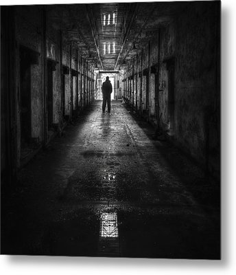 Put My Name On The Walk Of Shame Metal Print by Evelina Kremsdorf