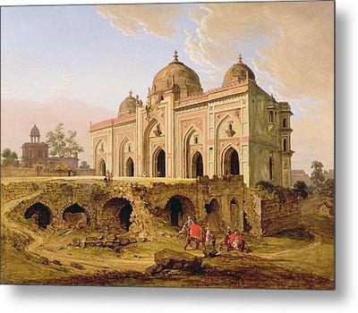 Qal' A-l-kuhna Masjid - Purana Qila Metal Print by Robert Smith