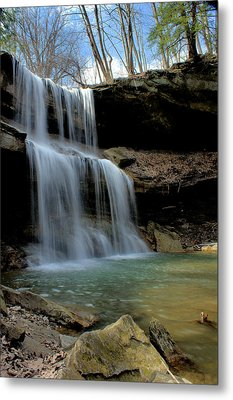 Quakertown Falls Metal Print