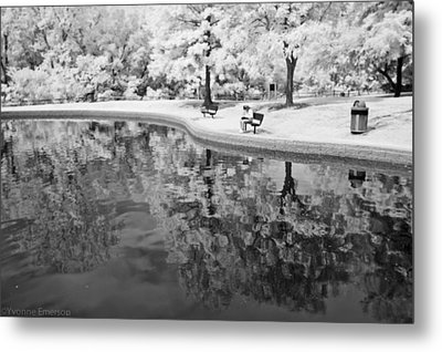 Metal Print featuring the photograph Quiet Spot by Yvonne Emerson AKA RavenSoul