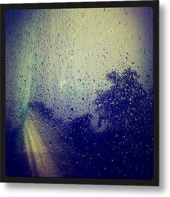 Rain Drops Metal Print by Sumit Jain