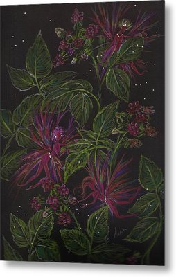 Raspberry Hunting Metal Print by Dawn Fairies