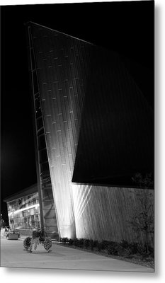 Reaching Into The Night Metal Print