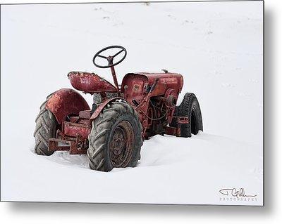 Red Metal Print by Joshua Gillum