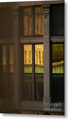 Reflected Metal Print by Aimelle