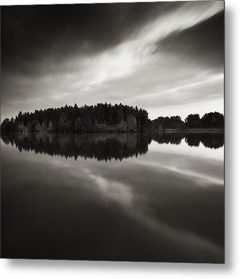Reflection Metal Print by Jaromir Hron