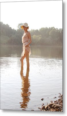 Reflection Metal Print by Jessica Wilson