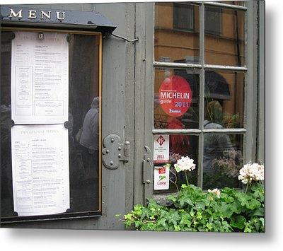 Restoran From Michelin Metal Print by Yury Bashkin
