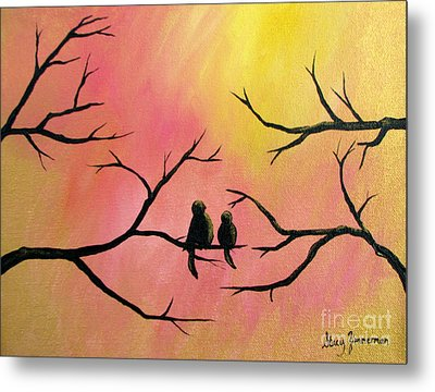 Metal Print featuring the painting Restoring Hope by Stacey Zimmerman