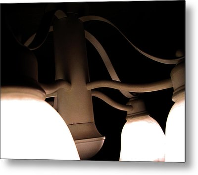 Ribbons Of Light Metal Print by Jeremy Martinson