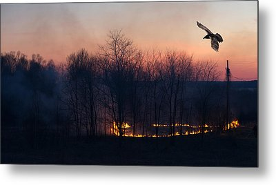Ring Of Fire. Metal Print by Kelly Nelson