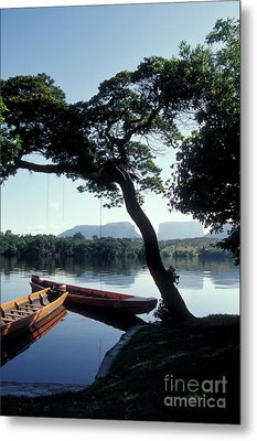 Metal Print featuring the photograph Rio Carrao Canaima Venezuela by John  Mitchell