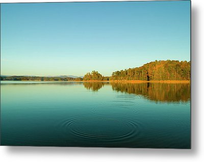 Ripples Of Change  Metal Print by Andria Patino