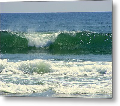Metal Print featuring the photograph Rolling Wave by Kelly Nowak