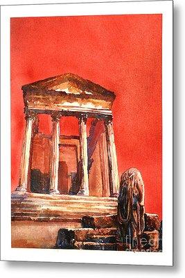 Roman Ruins- Tunisia Metal Print by Ryan Fox