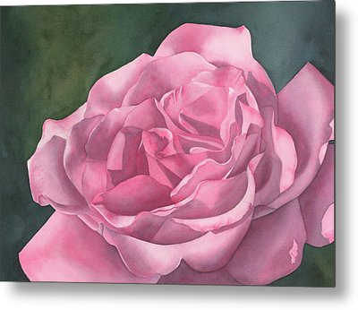 Rose Blush Metal Print by Leona Jones