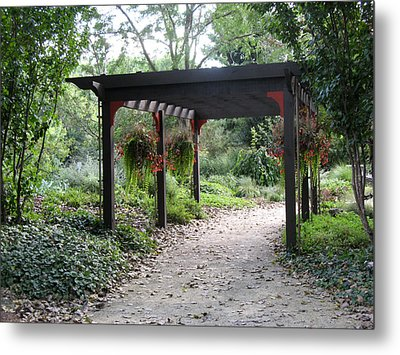 Metal Print featuring the photograph Rotary Gardens by Kimberly Mackowski