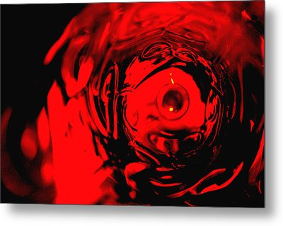 Ruby Red Race Metal Print