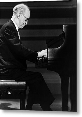 Rudolf Serkin 1903-1991 Metal Print by Everett
