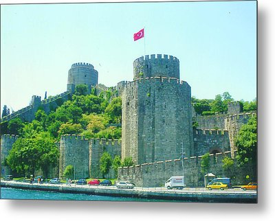 Metal Print featuring the painting Rumeli Hisar by Lou Ann Bagnall