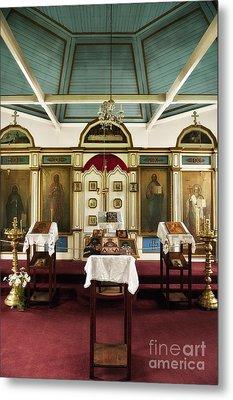 Russian Orthodox Church Metal Print by John Greim