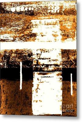 Rustic Modern Metal Print by Marsha Heiken