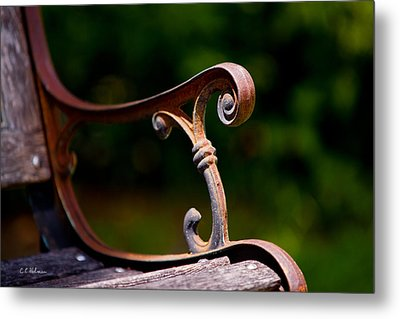 Rusty Rest Metal Print by Christopher Holmes