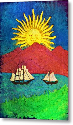 Safe Harbor Metal Print by Bill Cannon