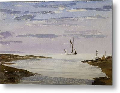 Metal Print featuring the painting Sail On By by Rob Hemphill