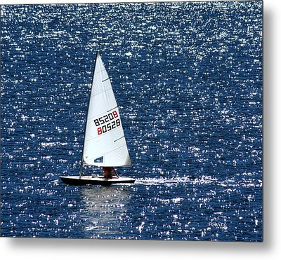 Metal Print featuring the photograph Sailing by Patrick Witz