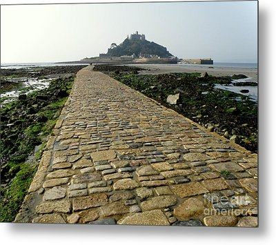 Metal Print featuring the photograph Saint Michael's Mount by Lainie Wrightson