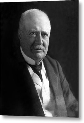 Samuel P. Colt, Chairman Of The Board Metal Print by Everett